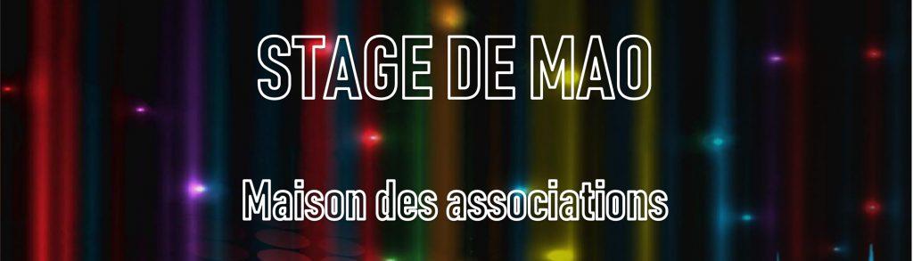 Stage de MAO // Ecole de Musique de l'Isle d'Abeau